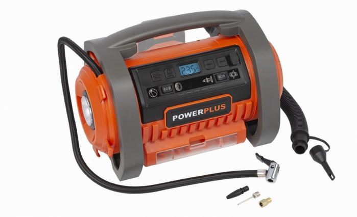 POWERPLUS POWDP7030 aku kompresor 20V +220V (bez AKU)