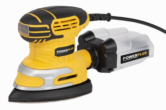 POWERPLUS vibrační mini delta bruska 220 W