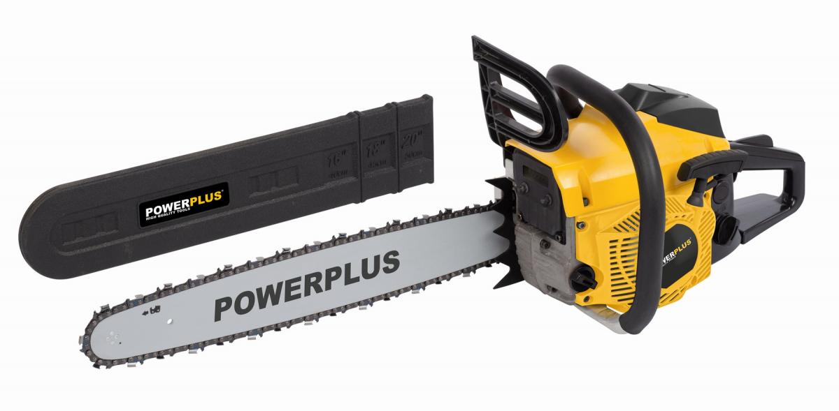 POWERPLUS POWXG10231 Benzinová řetězová pila 50,4 cc 500mm