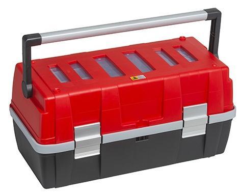 ALLIT Plastový kufr na nářadí v profi-kvalitě McPlus Alu C 18 457011