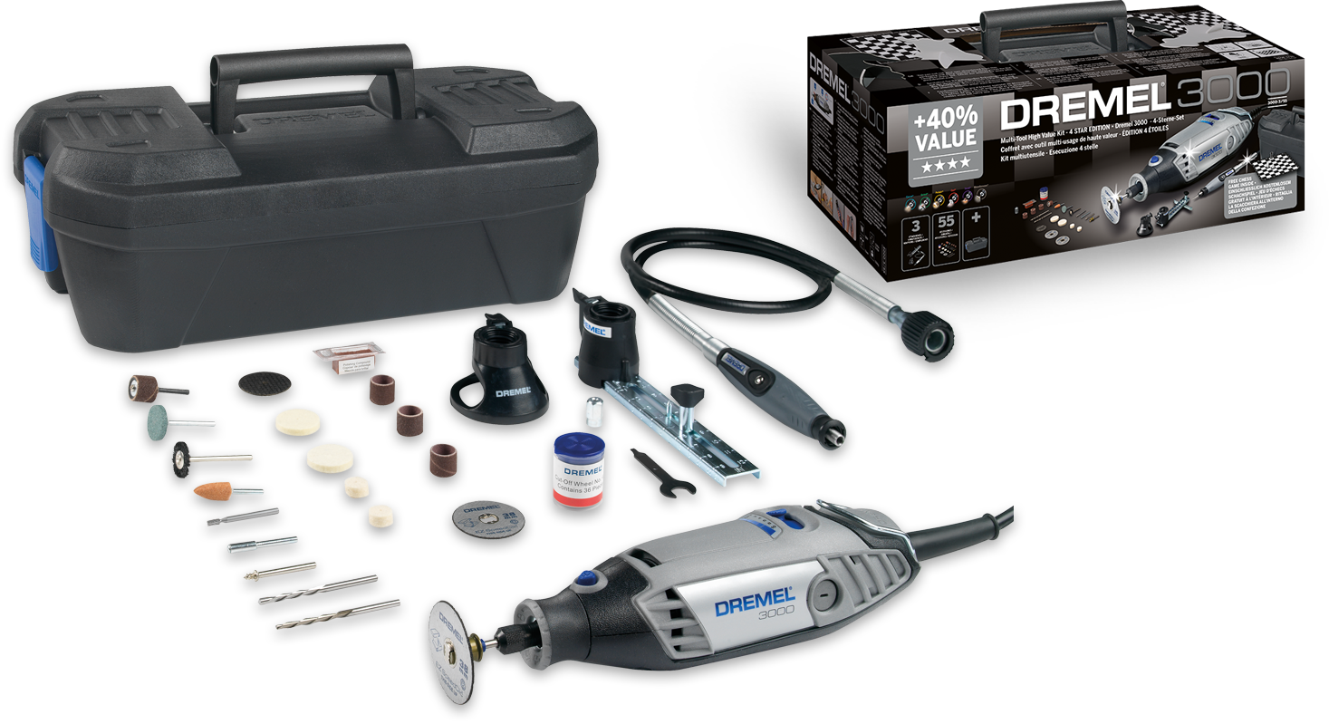 Dremel 3000-3/55 4 Star Kit