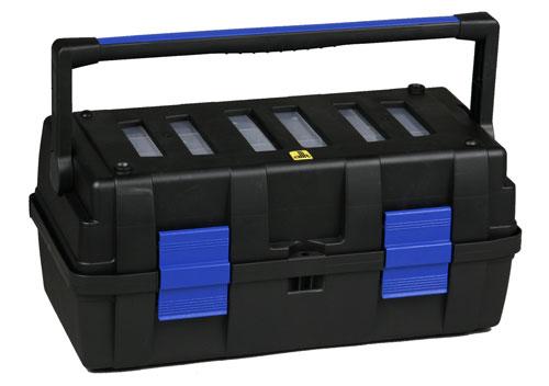 ALLIT Plastový kufr na nářadí, průmyslová kvalita McPlus Solid 18 457015