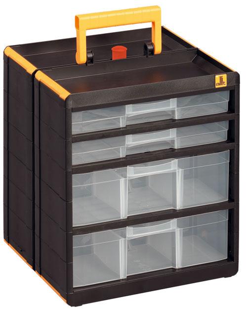 ALLIT Plastová dvojitá skříňka s držákem VarioPlus Cabinet 463100