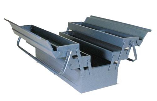 ALLIT Plechový montážní kufr McPlus Metall 5dílný dlouhý 490612