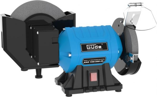GÜDE GNS 150/200-25 Stolní kombinovaná bruska
