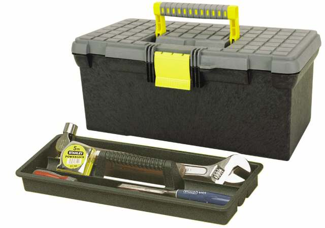 Box na nářadí s plochým víkem Stanley 1-92-766