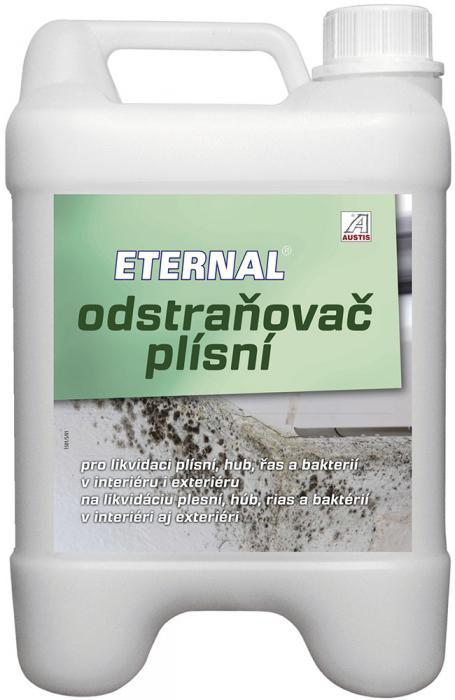 AUSTIS Eternal odstraňovač plísní 5L,přípravek pro likvidaci plísní, hub, řas, mechů a lišejníků