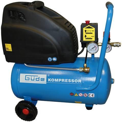 GÜDE 210/8/24 bezolejový kompresor
