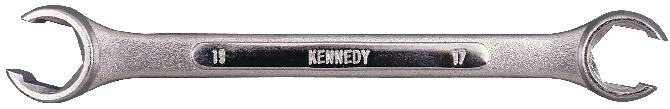 KENNEDY Klíč na převlečné matice Cr-V 14x17mm