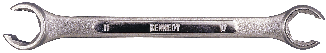 KENNEDY Klíč na převlečné matice Cr-V 19x22mm