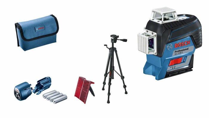 Bosch GLL 3-80 C + BT 150 Křížový laser + stativ