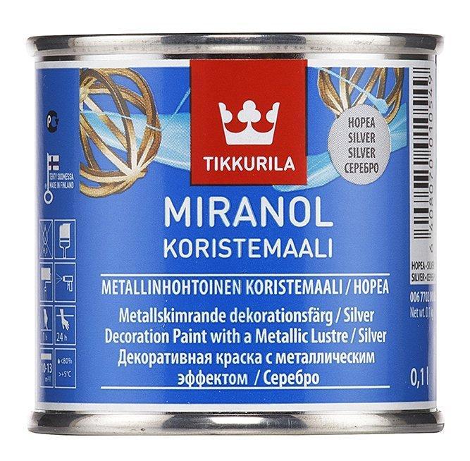 Tikkurila MIRANOL DECORATIVE SILVER 1 L
