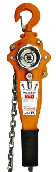 BOW HZ 750 ruční řetězový zvedák 750kg UNICRAFT