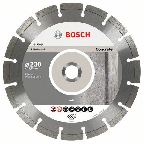 BOSCH diamantový kotouč 230 Standard for Concrete 2608602200