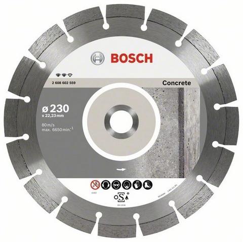 BOSCH diamantový kotouč 230 Expert for Concrete 2608602559