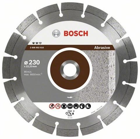 BOSCH diamantový kotouč 230 Expert for Abrasive 2608602610