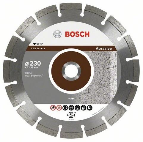BOSCH diamantový kotouč 230 Standard for Abrasive 2608602619