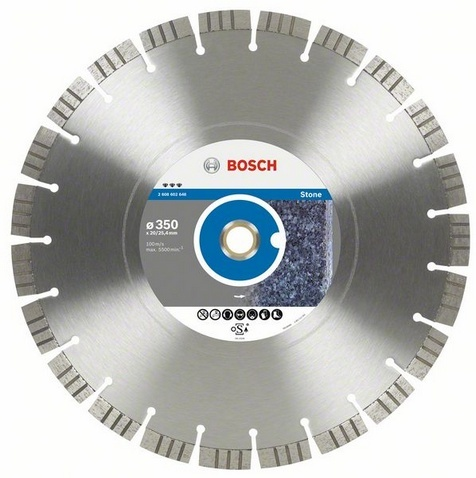 BOSCH diamantový kotouč 350x20/25,4 Best for Stone 2608602648