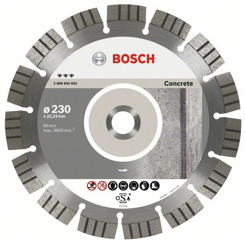 BOSCH diamantový kotouč 125 Best for Concrete 2608602652