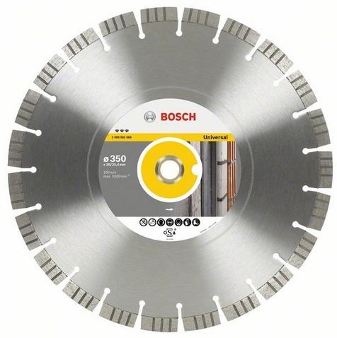 BOSCH diamantový kotouč 350x20/25,4 Best for Universal/Metal 2608602668