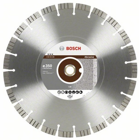 BOSCH diamantový kotouč 350x20/25,4 Best for Abrasive 2608602686