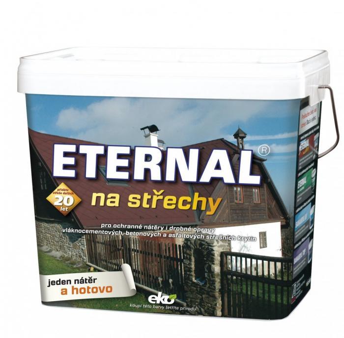 AUSTIS ETERNAL na střechy 5kg červenohnědý