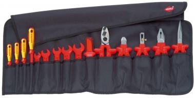 KNIPEX Svinovací taška, 15-dílná 1000V 989913