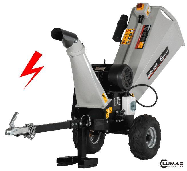 Lumag RAMBO HC-15E elektrický štěpkovač dřeva