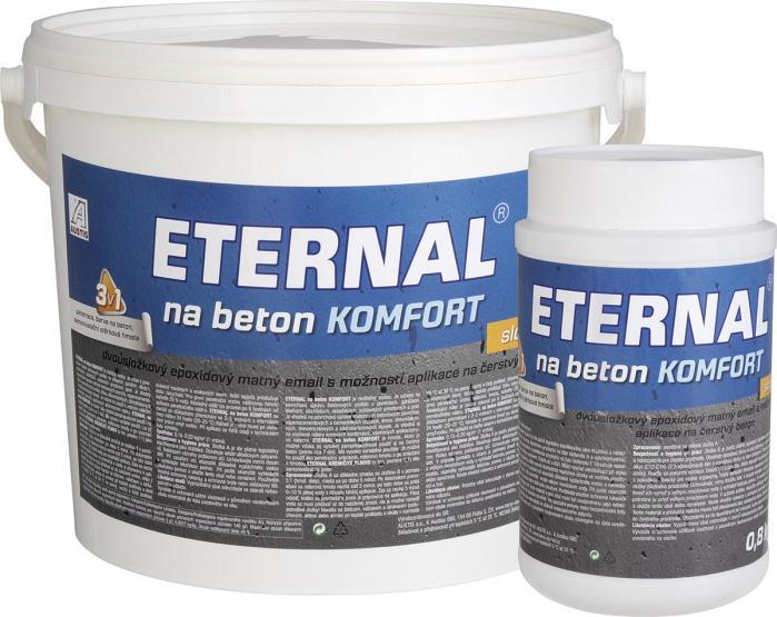 AUSTIS ETERNAL barva na beton KOMFORT A+B 24kg šedá ( sada 4+1zdarma)