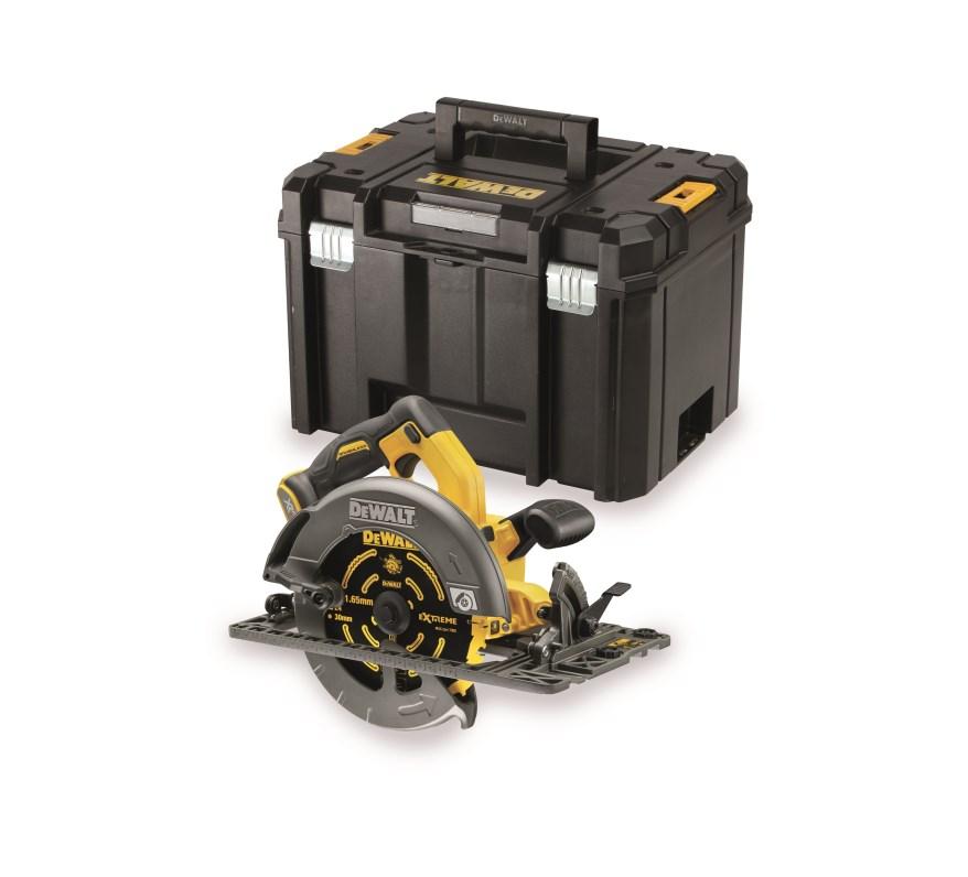 DeWALT DCS576NT FLEXVOLT kotoučová pila bez akumulátorů v kufru T-STAK