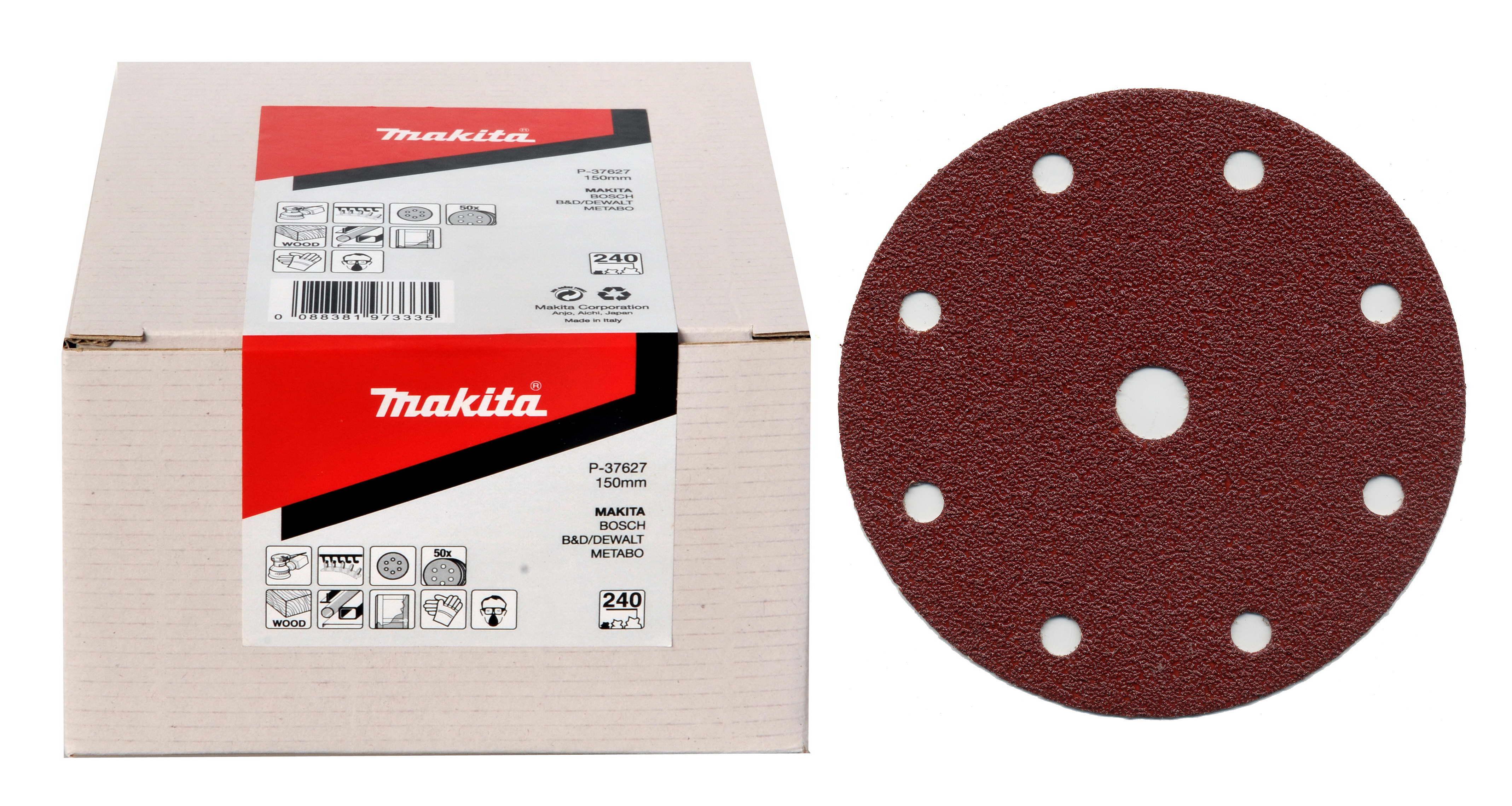 Makita P-37627 brus.pap150mm6otK240,50ksBO6030,40