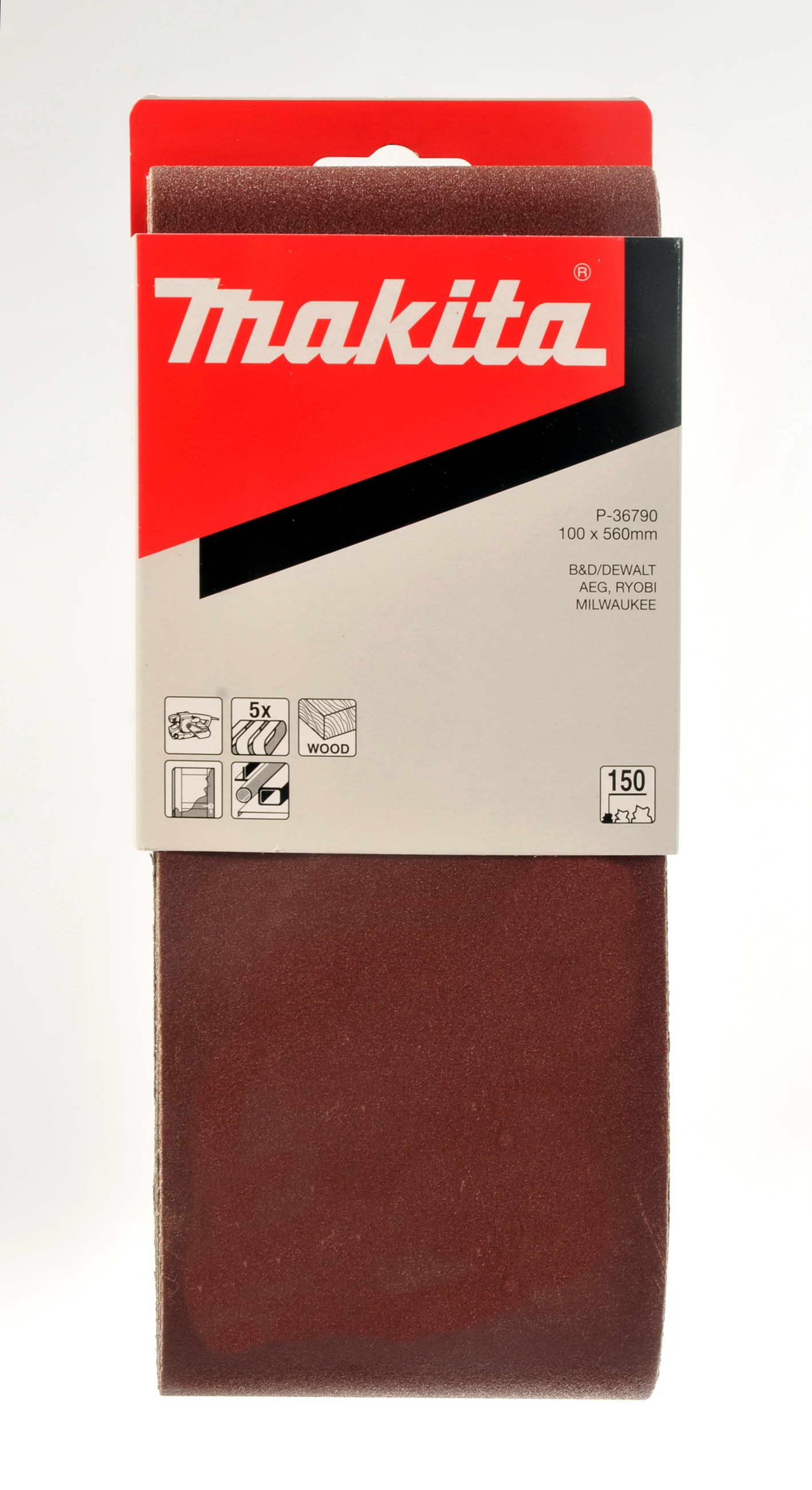 Makita P-36790 brus.pásy100x560 K150 5ks