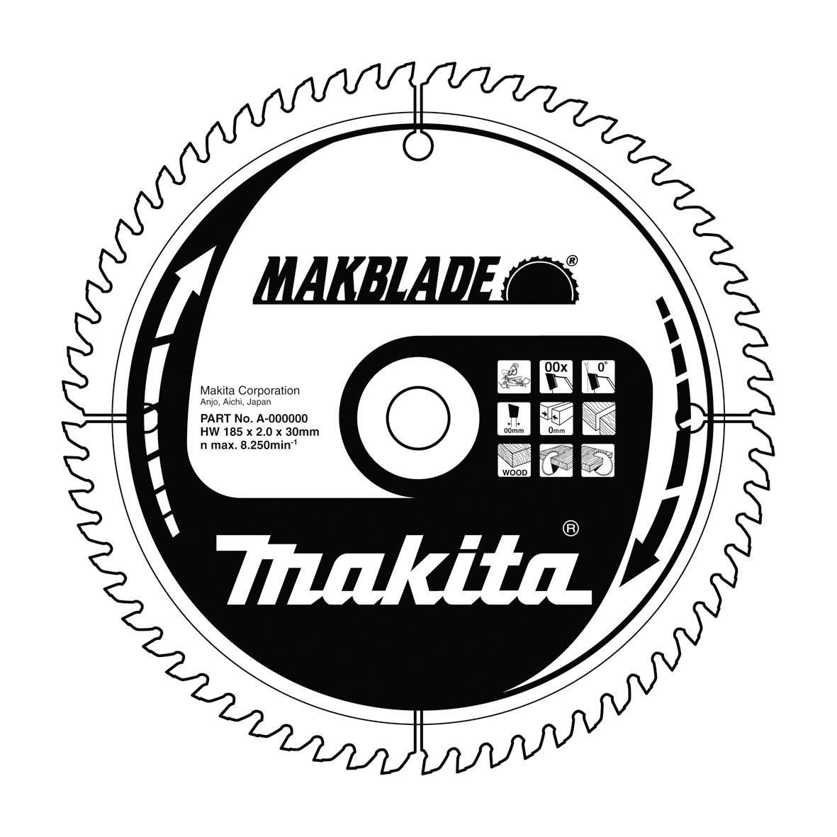 Makita B-08888 pilový kotouč 255x30mm 48T