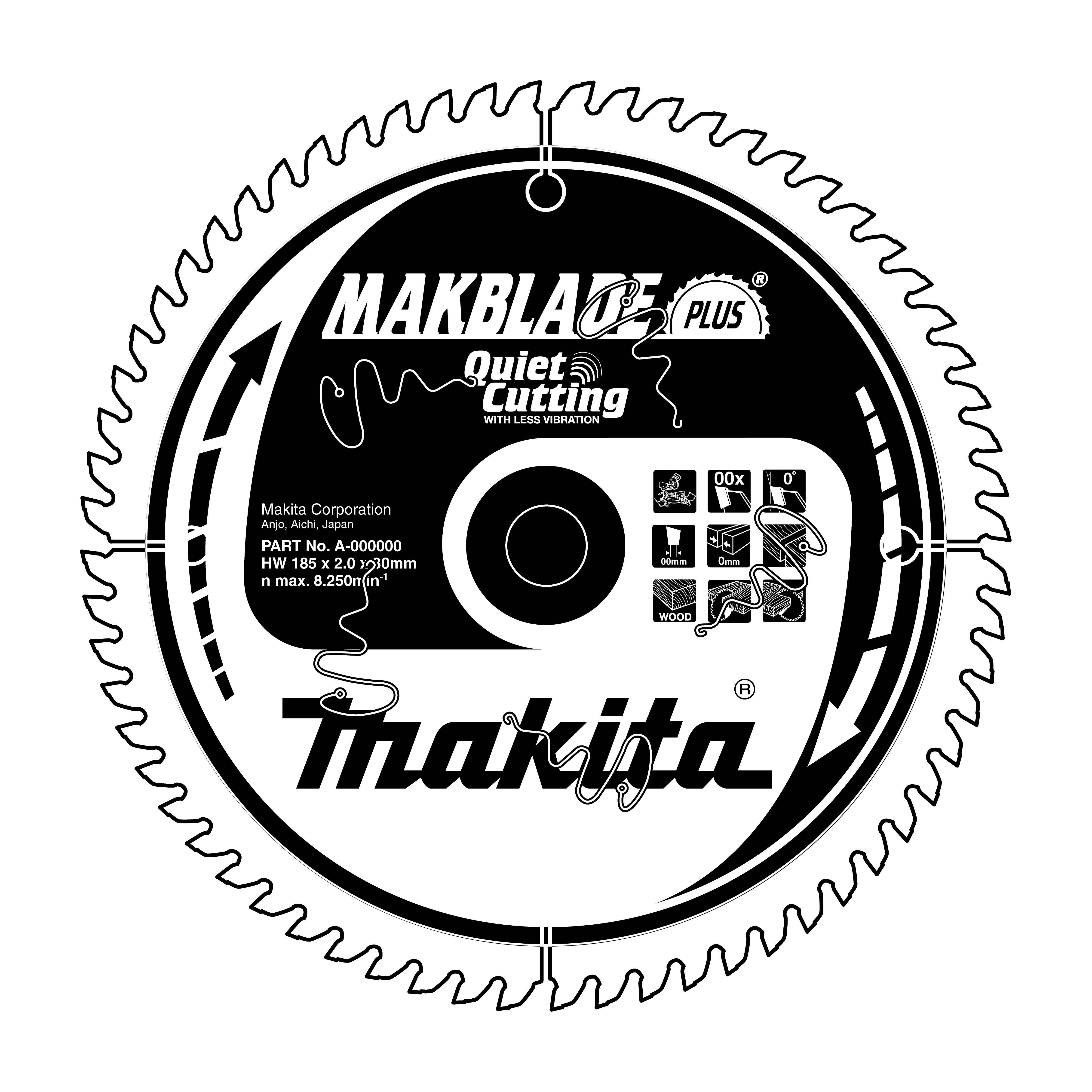 Makita B-08791 pilový kotouč 216x30 80 Z