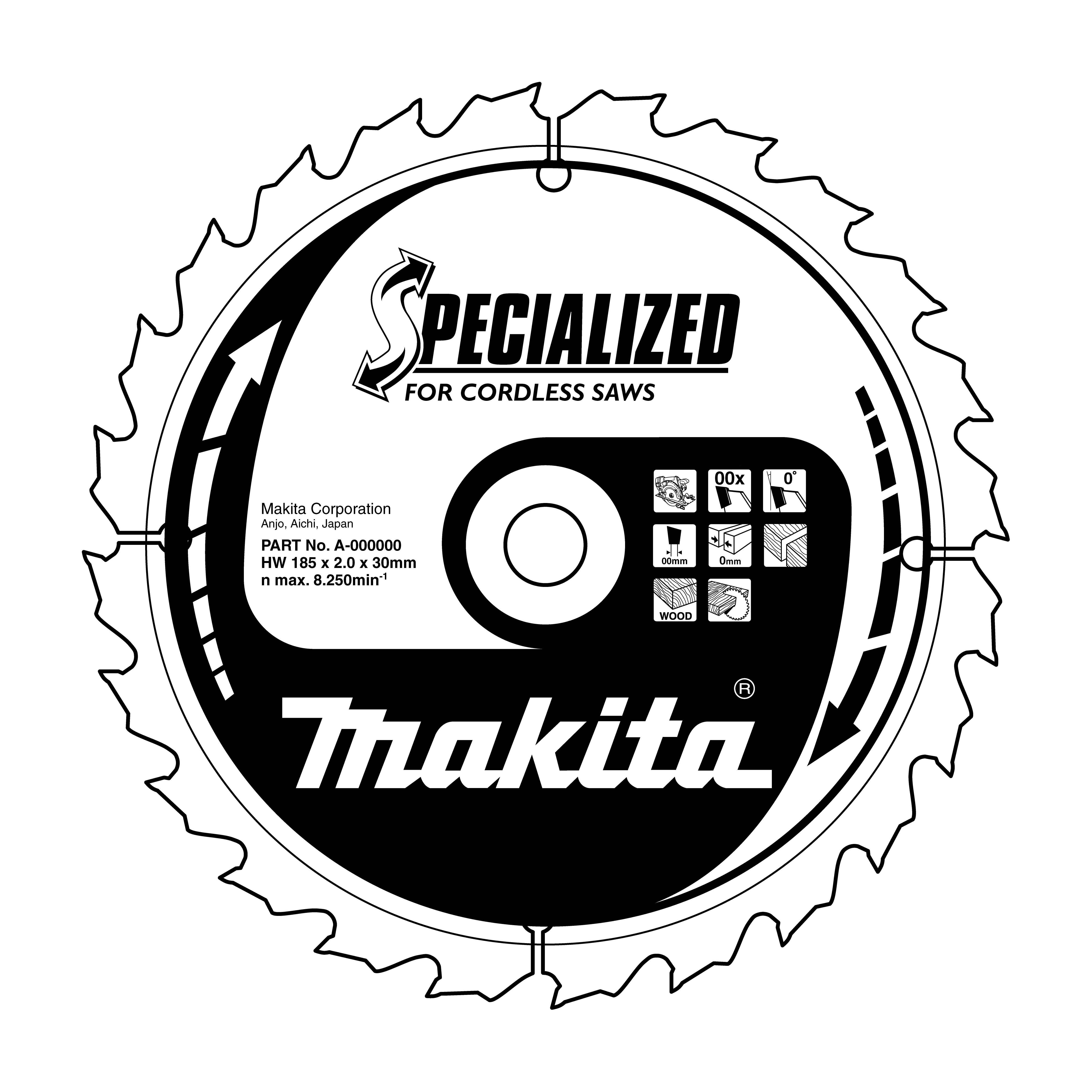 Makita B-09173 pilový kotouč 165x20mm, 24T=oldA-85101