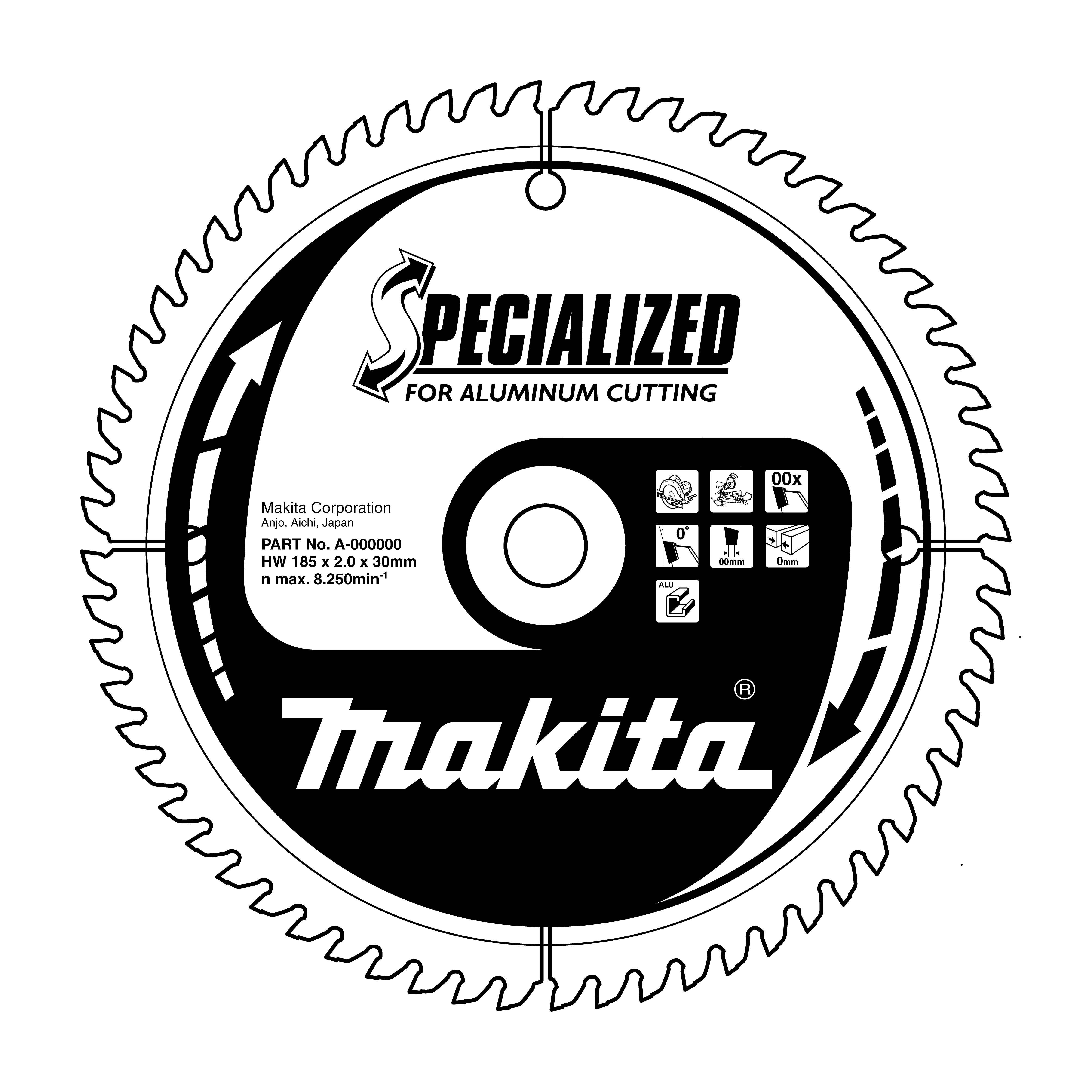 Makita B-09709 pilový kotouč 250x30 80T