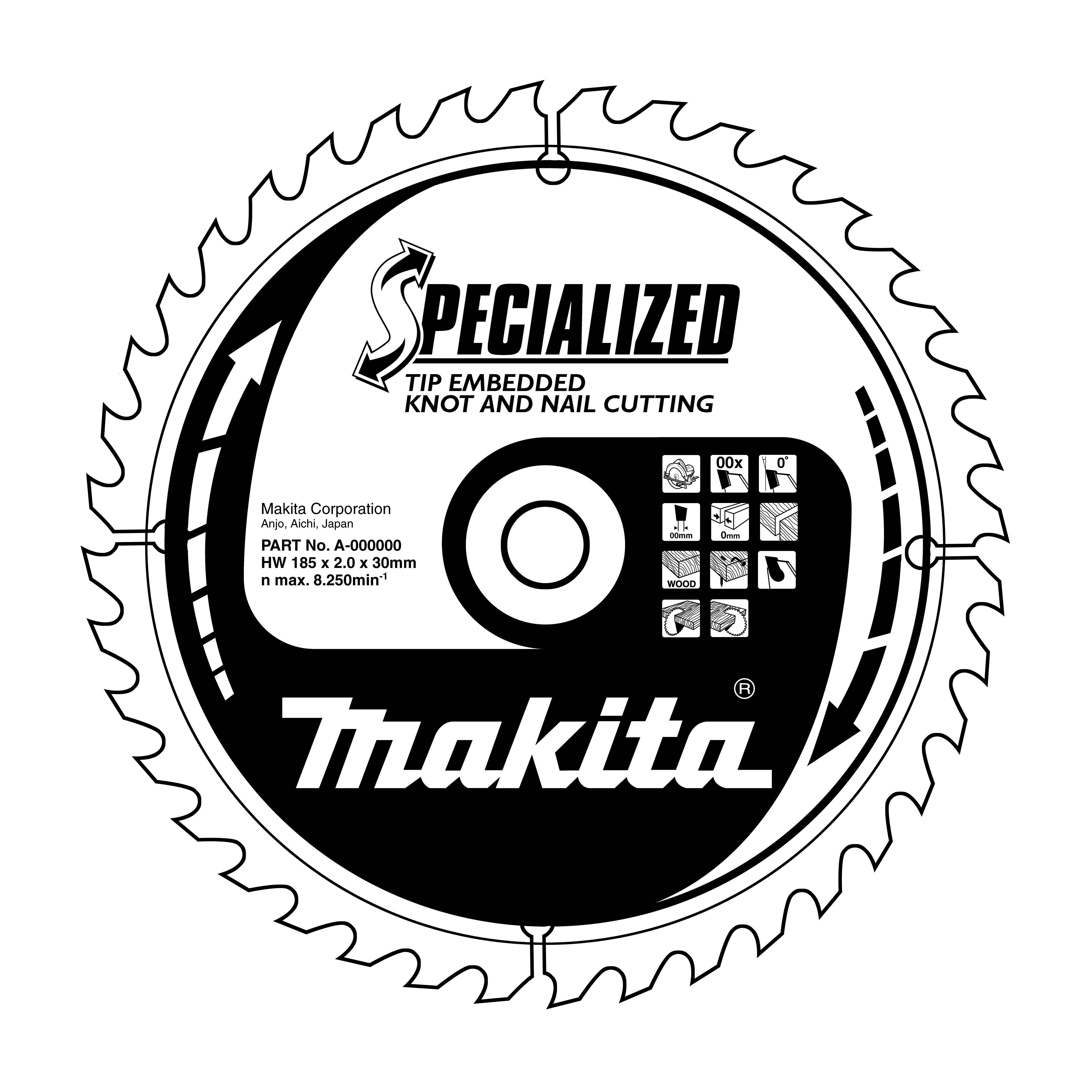 Makita B-09341 pilový kotouč 185x30 16T =oldA-86050