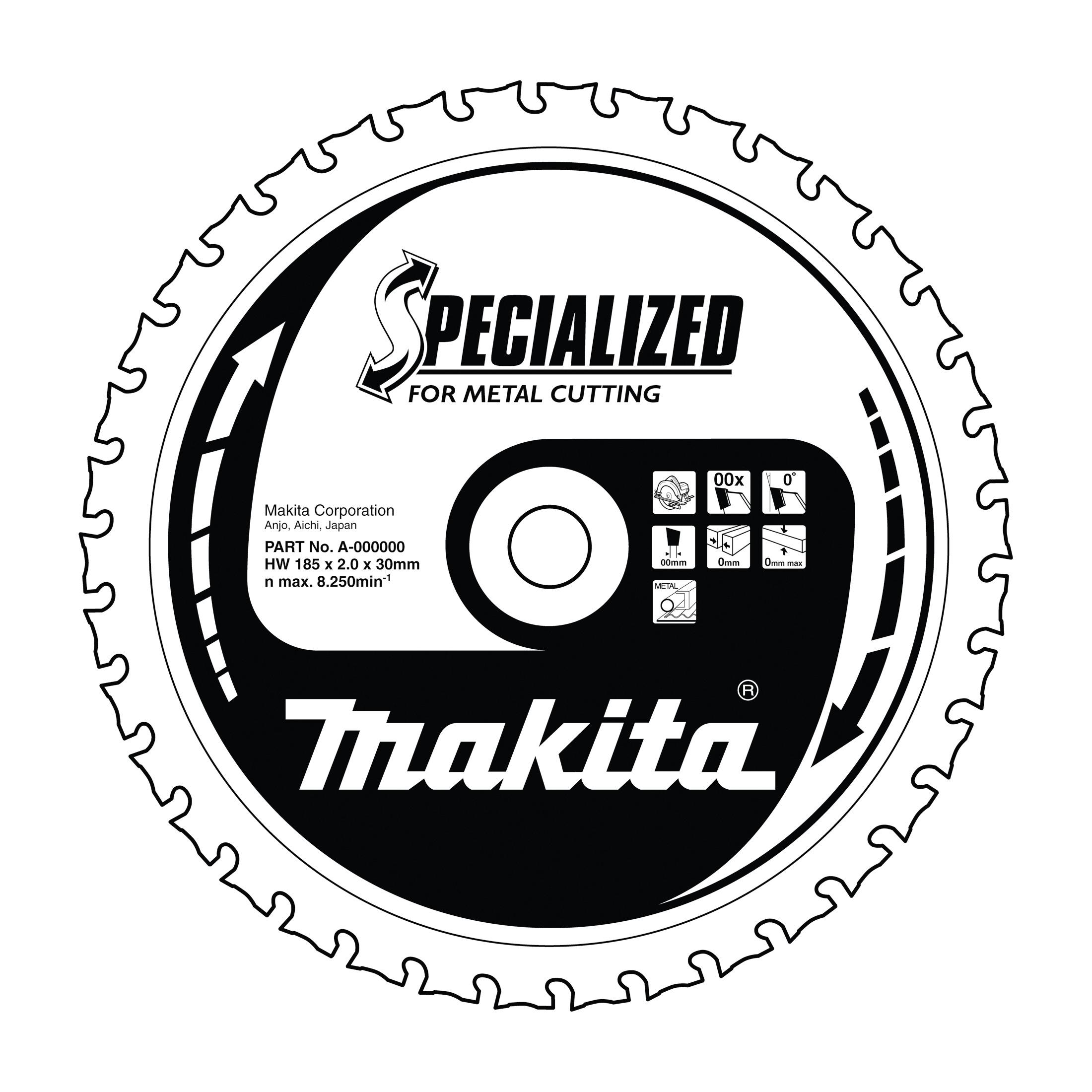 Makita B-21973 pilový kotouč (50Z) 136x20 mm