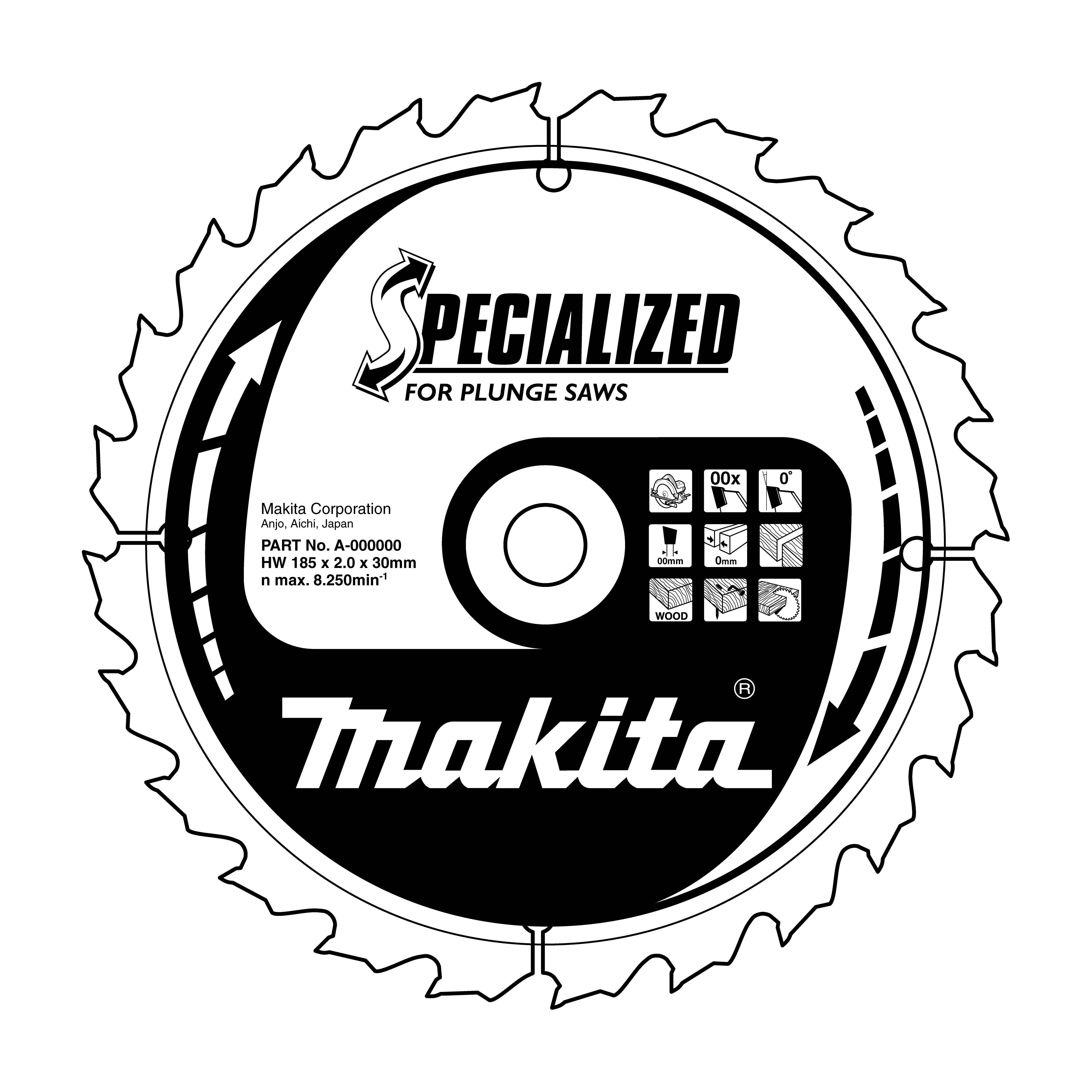 Makita B-09298 pilový kotouč 165x20 48T= old B-07353