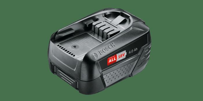 BOSCH Akumulátor PBA 18V 4.0Ah W-C