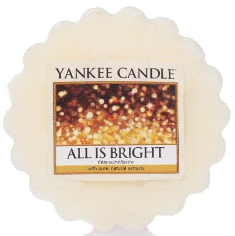 YANKEE CANDLE ALL IS BRIGHT VONNÝ VOSK DO AROMALAMPY