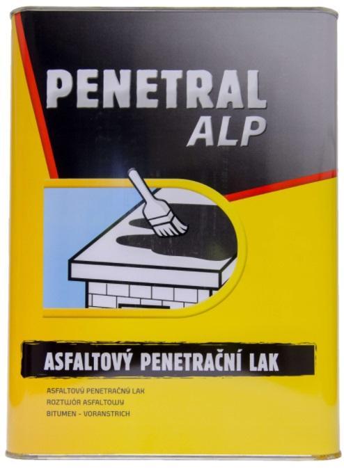 COLORLAK PENETRAL ALP asfaltový penetrační lak pod izolační asfaltové pásy na savé poklady