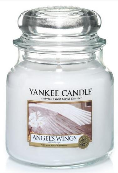Vonná svíčka YANKEE CANDLE Angel´s Wings CLASSIC STŘEDNÍ Andělská křídla
