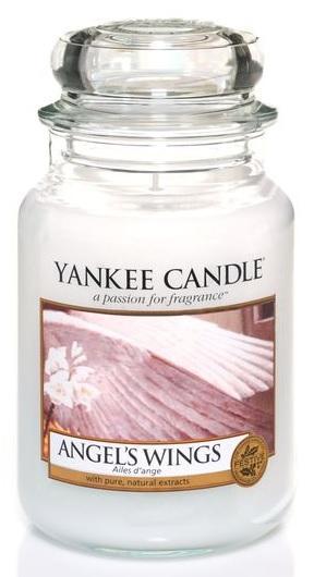 Vonná svíčka YANKEE CANDLE Angel´s Wings CLASSIC VELKÝ Andělská křídla