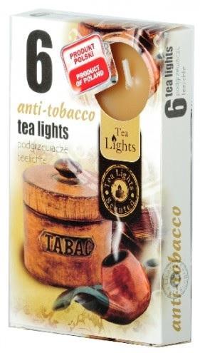Z-Trade Čajové 6ks Antitabák vonné svíčky