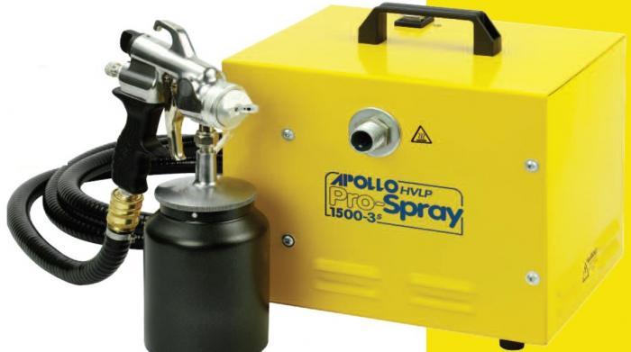WAGNER APOLLO kompresorové profi stříkací zařízení pro téměř všechny typy barev