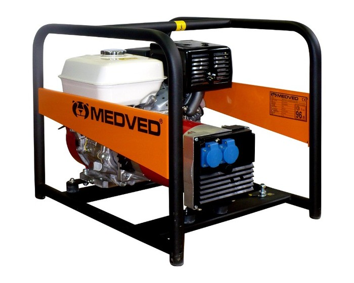 MEDVED ARCTOS 5000 HE AVR 1-fázová elektrocentrála