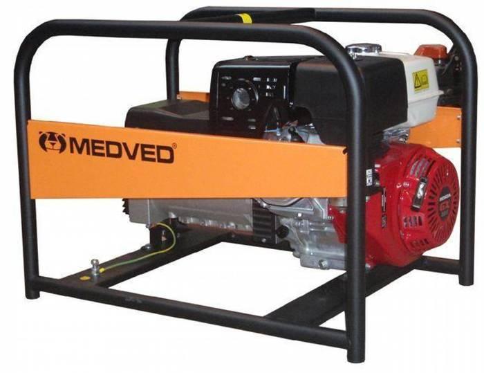 MEDVED ARCTOS 5000 HE 1-fázová elektrocentrála