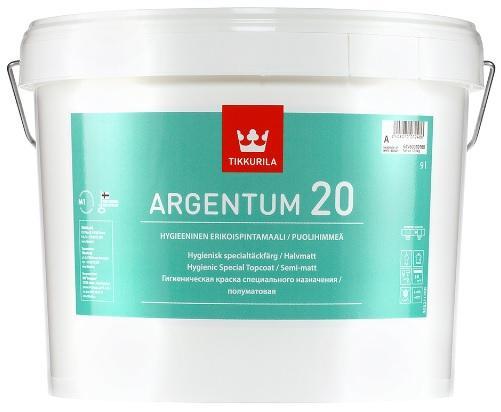 Tikkurila ARGENTUM 20 omyvatelná barva s aktivním stříbrem pro vysokou vnitřní hygienu