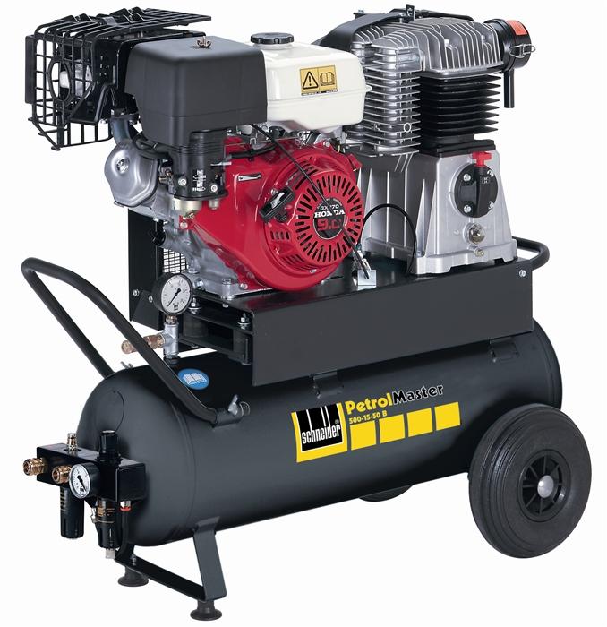 SCHNEIDER PEM 500-15-50 B PetrolMaster pojízdný kompresor A444002